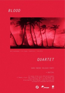 Blood Quartet flyer
